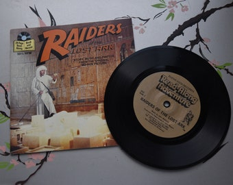 Vintage Book and Record Raiders of the Lost Ark