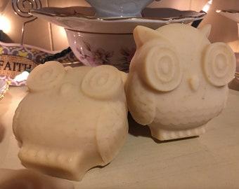 One pound of non scented goat milk soap