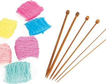 Beginner knitting set