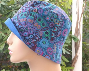 Chemo Hat Soft Cotton Alopecia Hat Chemo Headwear Made in the USA MEDIUM