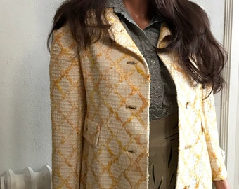 1960's Boucle Spring Coat Size 6