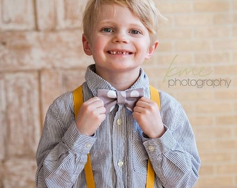 Boys Bow Tie Suspenders Set, First Birthday Boy, Boys Cake Smash Outfit, Toddler Bow Tie, Ring Bearer Outfit, Boys Suspenders, Boys Gift