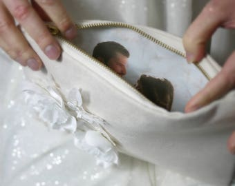 Bridal Purse | Photo clutch | Photo wedding purse