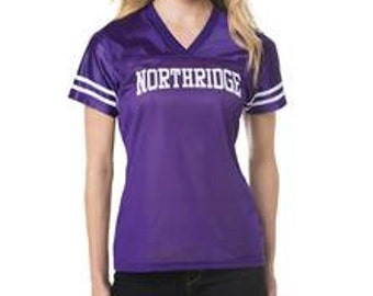 Custom Football Jersey- Great for Football Moms, Girlfriends or Fans