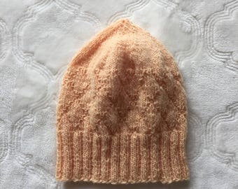 Toddler knitted beanie, toddler wool beanie, toddler beanie, toddler knit hat, wool beanie, girl knit hat, Christmas gift ideas for girls.