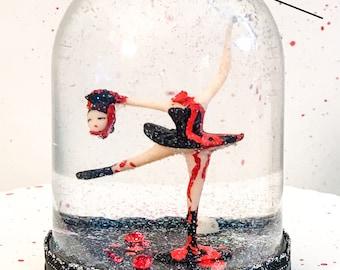 Headless Ballerina Snow Globe