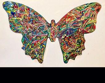 Nichola Karma World peace butterfly