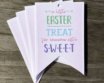 Easter Gift Tags | Easter Treats - Set of 12