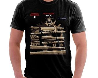 Donkey Colossus Shirt  - Shadow of the Colossus Shirt | T-shirt for Women Men | Video Game Shirt | Donkey Kong | SOTC | ICO | Retro Gaming