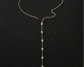 Lariat Necklace Bridal Necklace Cocktail Necklace Best Bridal Necklace