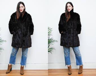 Vintage Real Mink Fur Coat