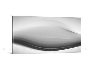 Black and White, Abstract Art, Large Canvas Art, Fine Art Print, Affordable Art, Canvas Wrap, Murray Bolesta, Contemporary Art, Modern Art