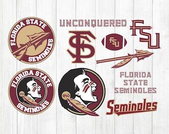 INSTANT DOWNLOAD - Florida State Seminoles Svg, Seminoles Clipart, Florida State Svg, Florida State Seminoles Svg Bundle, Florida State File