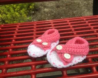 Baby girl sandal booties