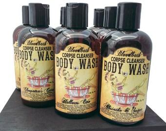 Cleopatra's Curse Vegan Body Wash Corpse Cleanser Shower Gel Organic