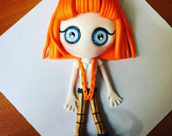 """Leeloo Dallas Multipass (""""the Fifth Element"""")"""