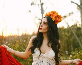 LUCIA flower crown.