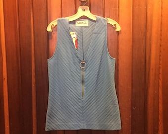 1960s // CAROL BRADY // Vintage Bobbie Brooks Size L Vest