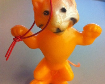 1950s Barnum and Bailey Circus Lion Hang Toy