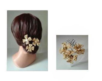 épingle cheveux or mariée, pique cheveux croix, bijoux chignon, chapeau femme mariage, pic chignon
