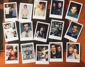 Larry Stylinson + Louis Tomlinson Polaroids Mini Vintage Style set of 15