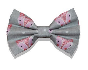 Foxes bow tie, bowtie for dogs, bow tie for cats, collar bow