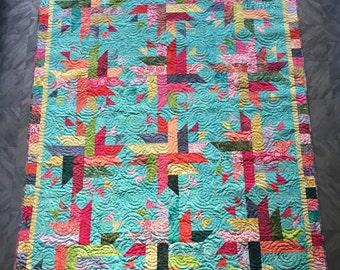 Nova, a batik quilt