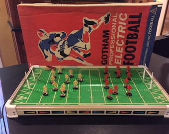 Vintage Electric Football Game 1962 By Gotham