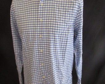 HACKETT blue shirt size L to-65%