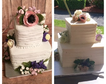 Replica mini Wedding cake ornament