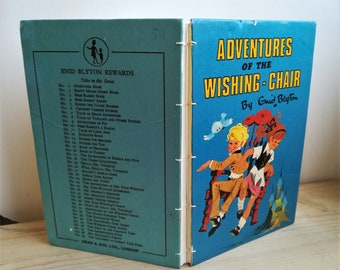 Adventures of the Wishing Chair (revamped vintage book)