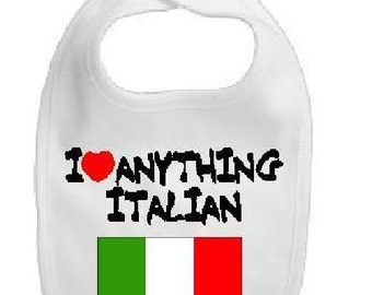 Italian baby bib, italian bib, italian baby boy, italian baby girl, italian baby shower, italian baby clothes, italian baby clothing