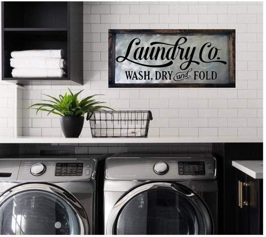 Laundry Room Sign Laundry Sign Laundry Room Decor Laundry   Etsy