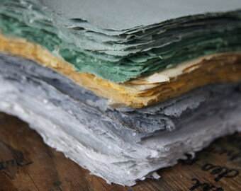 FREE SAMPLE !  If you want to try my Homemade Paper