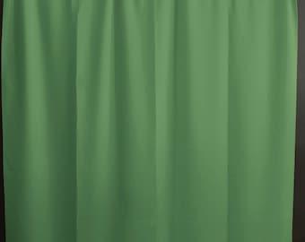Solid Poplin Curtain Panel / Window Decor / Window Treatments / Backdrop Sage