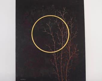 Good Friday Painting / Fine Art, Lent Art, Religious Art, Original Painting, Wall Art, Canvas Art, Acrylic