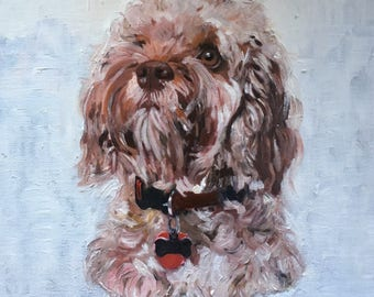 Custom Pet Portrait, Dog Painting, Dog Commission, Dog Portrait, Dog Portrait Painting, Pet Painting, Pet Portrait, Pet Portrait Painting