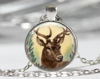 Deer Jewelry Deerl Necklace Wearable Art Jewelry