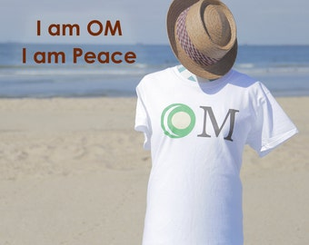 Yin & Yang Living OM T-Shirts to help in your spiritual journey