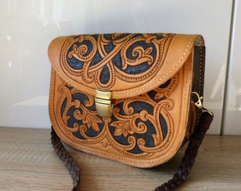 Leather Caprice Bag