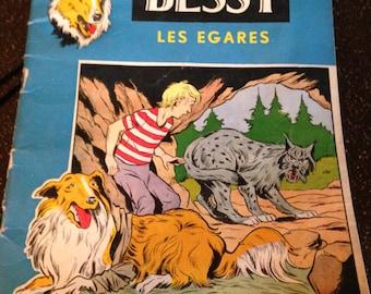 Dutch comic book:  Bessy Les Egares -- Collie