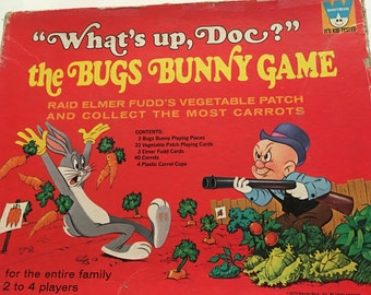 Bugs Bunny Game, What's Up Doc? Whitman Game, 1970