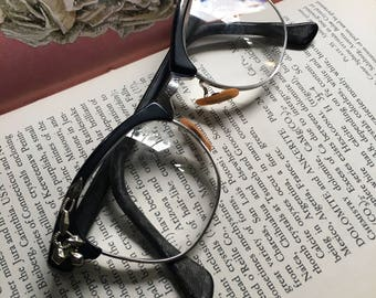 Black Cat Eye Glasses, Cat Eye Glasses, Cat Eyeglasses, Vintage Eyeglasses, Vintage Eyewear, ArtCraft Cat Eye, Retro Eyeglasses, Cat Eyes