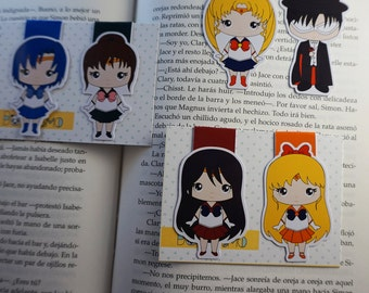 Magnetic bookmarks - Sailor moon