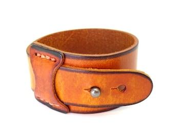 Tan Leather cuff blanks| leather bracelet blank| brown leather cuff uk| vintage leather cuff|  leather bracelet blank