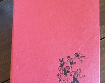 Handbound journal, altered vintage book