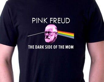 Pink Freud T-shirt Pink Floyd Shirt Sigmund Freud Shirt