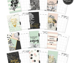 Simple Stories A5 BEAUTIFUL monthly planner inserts