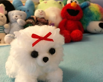 Petite Fluffy Pup
