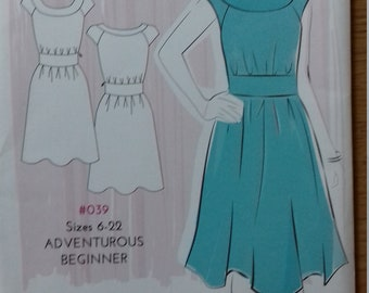 UNCUT Simple Sew #039 Annabelle Dress